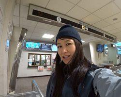 雪遊びの達人と滑る 鈴木彩乃の雪旅 第1回 初冬の立山撮影ツアー