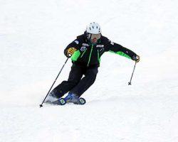 ONE POINT TRAINING 佐々木常念 重心とスキーの位置関係を操る